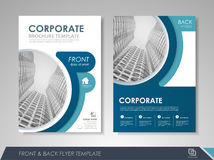 Business flyer cover design Stock Photo