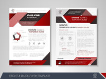 Business flyer presentation Stock Images