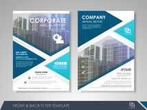 Business flyer presentation Stock Photography