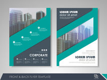 Business flyer presentation Royalty Free Stock Image