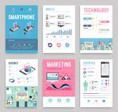 Business flyer. Business flyer templat. Vector illustration royalty free illustration