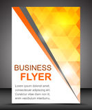 Business flyer template or corporate banner, brochure Royalty Free Stock Photo