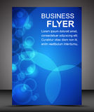 Business flyer template or corporate banner, brochure Stock Photography