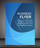 Business flyer template or corporate banner, brochure Stock Photos