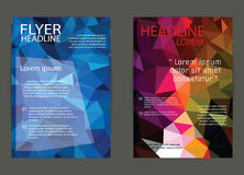 Business flyer template or corporate banner, brochure/design in Stock Photos