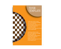 Business flyer template Stock Photo