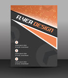 Business flyer template, corporate banner or cover design Royalty Free Stock Image