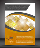 Business flyer template or corporate banner, cover design Stock Photo