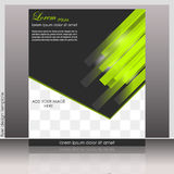 Business flyer template or corporate banner Stock Image
