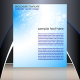 Business flyer template or corporate banner Royalty Free Stock Photo