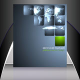 Business flyer template or corporate banner Royalty Free Stock Images