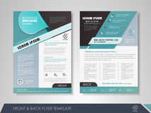 Business flyer template Royalty Free Stock Photography