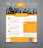 Business Flyer Template Royalty Free Stock Photos