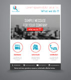 Business Flyer Template Royalty Free Stock Image
