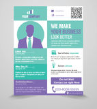 Business Flyer Template Stock Photos