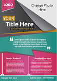Business Flyer. Vector Business Flyer, easy to edit and clean design stock illustration