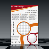 Business flyer vector template Royalty Free Stock Image