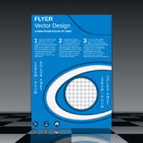 Business flyer vector template Stock Photos