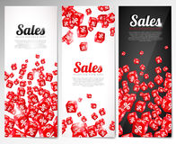 Business flyers. Royalty Free Stock Image