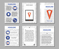 Business flyers 01 Royalty Free Stock Images