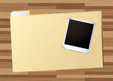 Business folder picture Stock Image