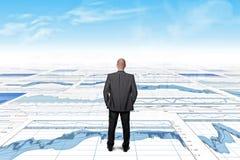 Business forecast Stock Photos