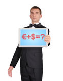 Business formula Stock Photos