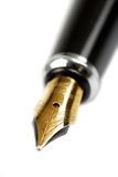 Business fountain pen Royalty Free Stock Images
