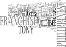 A Business Franchise Philippines Success Storyword Cloud. A BUSINESS FRANCHISE PHILIPPINES SUCCESS STORY TEXT WORD CLOUD CONCEPT Royalty Free Stock Photography