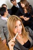 business friendly portrait woman Στοκ Εικόνες
