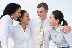 Business friendship Royalty Free Stock Image