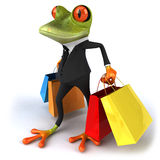 Business frog Stock Photo