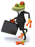 Business frog Royalty Free Stock Photo