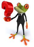 Business frog Royalty Free Stock Image