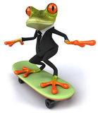 Business frog Stock Image