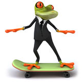 Business frog Stock Photography
