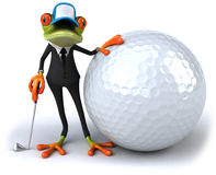 Business frog Royalty Free Stock Photos