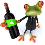 Business frog Royalty Free Stock Photography