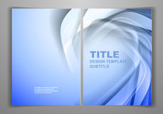 Business Front and Back Flyer Template Royalty Free Stock Photography