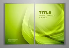 Business Front and Back Flyer Template Stock Photos
