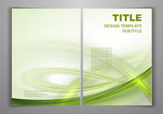 Business Front and Back Flyer Template Stock Photography