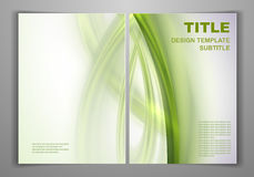 Business Front and Back Flyer Template Stock Photo