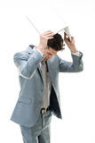 Business Frustration Stock Photography