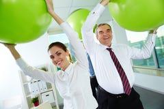 Business fun Stock Photo