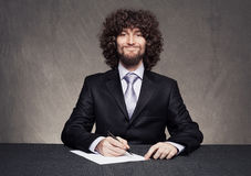 Business fun Stock Photo