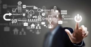Business futuristic concept Stock Image