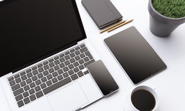 Business gadgets Royalty Free Stock Photos