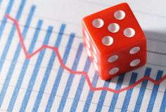 Business is gamble Stock Photography