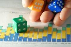 Business is gamble Stock Image