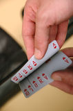 Business gamble, business risk Stock Photo